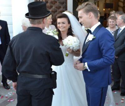 Mistrz kominiarski - ślub