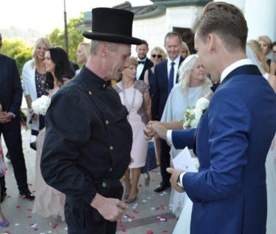 wynajem kominiarza do ślubu