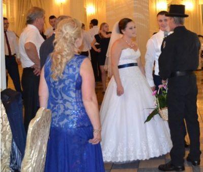 kominiarz pobłogosławił młodą parę