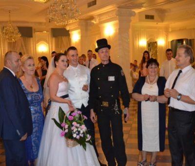 kominiarz na weselu
