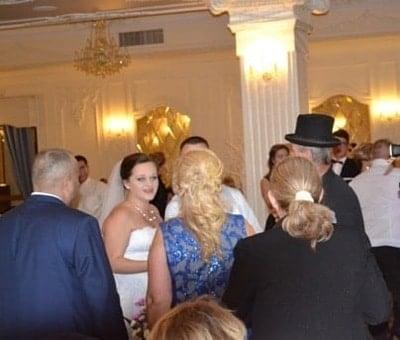 zdun na ślubie