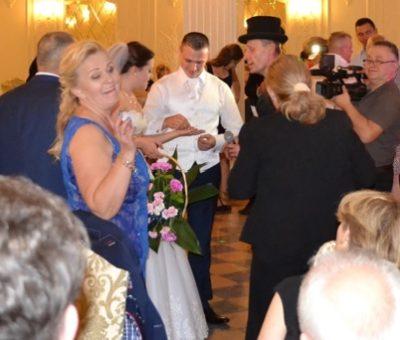 wesele - przybył kominiarz