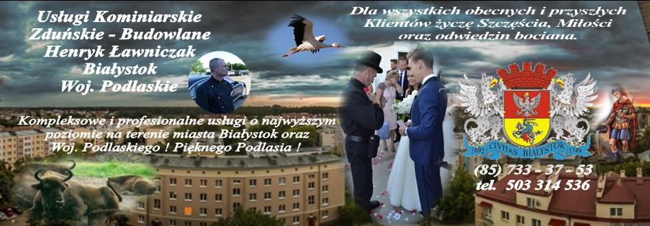 usługi kominiarskie Białystok
