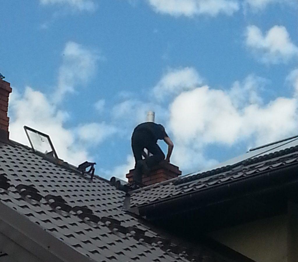 montaż wkładów kominowych Białystok